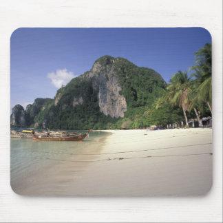 Thailand, Andaman Sea, Ko Phi Phi Island, Beach Mouse Pad