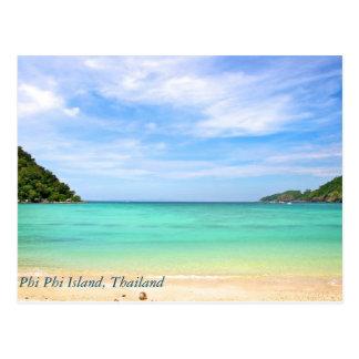 Thailand at Phi Phi Island Postcard