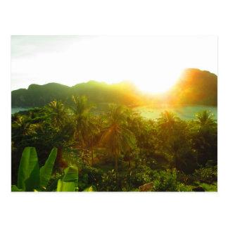 Thailand Sunset Post Card