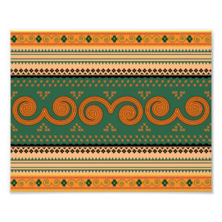 Thailand Traditional Patterns Decorative art Photo Print