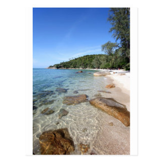 Thailand tropical island paradise beach coast postcard