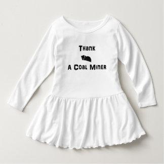 Thank a Coal Miner Dress