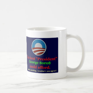 Thank George for his support! Coffee Mug