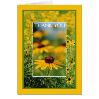 Thank You - Black-Eyed Susans Greeting Card