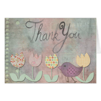 Thank You Card, Standard white envelopes included Greeting Card