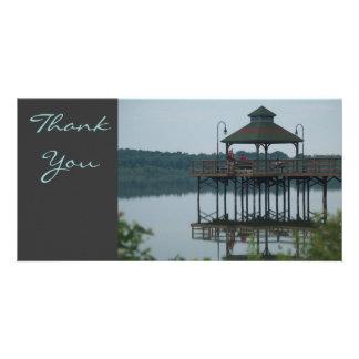 Thank You Dock w Gazeebo Custom Photo Card