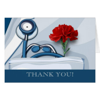 Thank You. Doctors' Day Customisable Cards