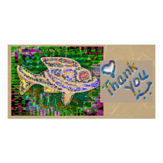 Thank You - Exotic Gold Fish Poster