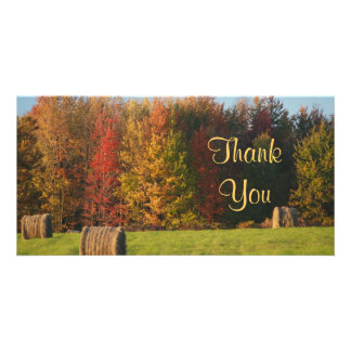 Thank You Farm Scene Picture Card