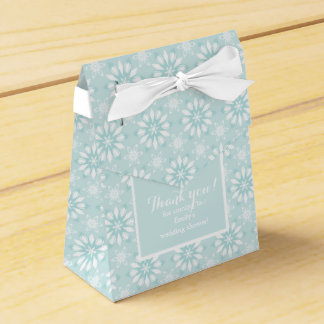 Thank you! Favor Box with flowers-wedding
