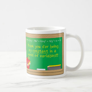 Thank You for being my constant in a... Coffee Mugs