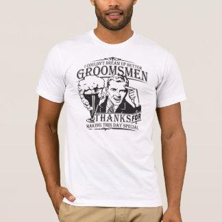 Thank You Groomsmen T-Shirt