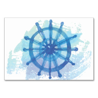 Thank You Nautical Placecards Table Card