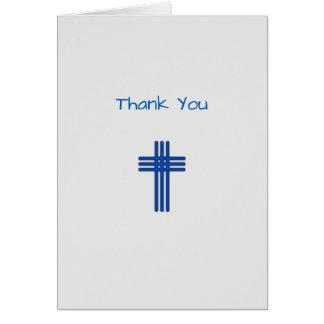Thank You Pastor Card
