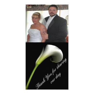 Thank You Personalized Photo Card