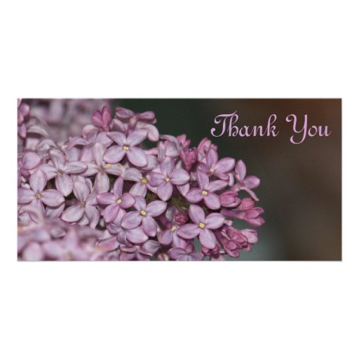 Thank You Photocard Picture Card