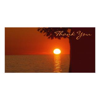 Thank You Photocard Photo Greeting Card