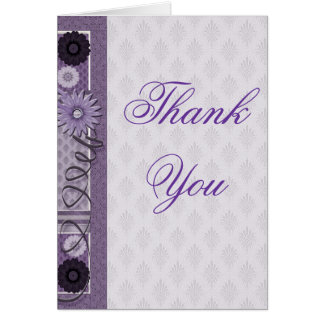 Thank You Sewing Addict Card