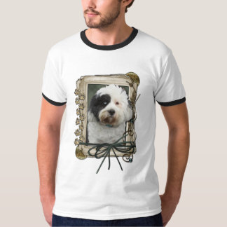 Thank You - Stone Paws - Tibetan Terrier T-Shirt