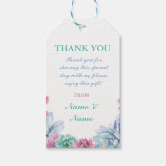 Wedding Gift Tags Nz : Wedding Thank You Tags Gift Tags Zazzle.co.nz