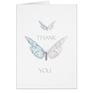 Thank you.with Butterflies Card