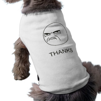 Thanks Meme - Pet Clothing