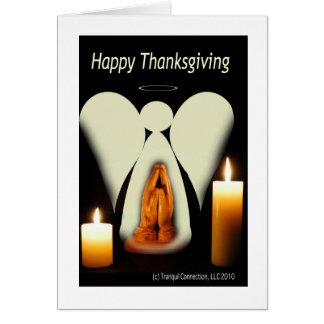 Thanksgiving Angel Card