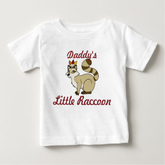 Thanksgiving Blonde Raccoon with Indian Headdress Baby T-Shirt