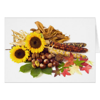 Thanksgiving Day Wedding Card Greeting Cards