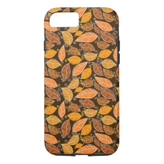 Thanksgiving Fall Autumn Pattern iPhone 8/7 Case