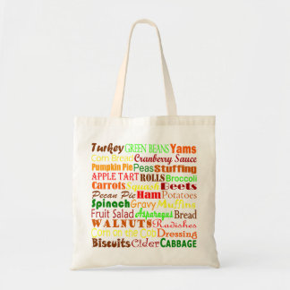 Thanksgiving Feast Budget Tote Bag