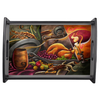 Thanksgiving Feast Serving Tray