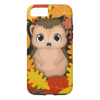 Thanksgiving Hedgehog iPhone 7, Tough iPhone 8/7 Case