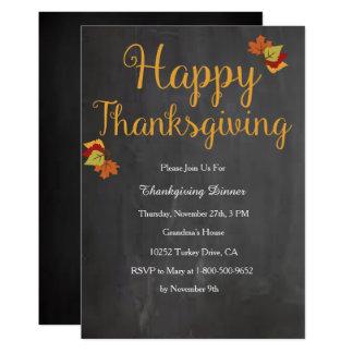 Thanksgiving Invitation
