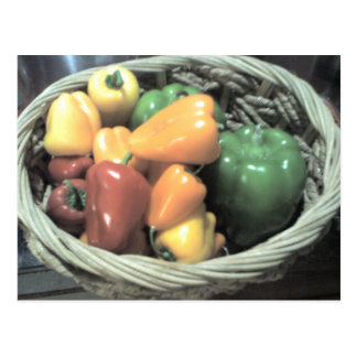 Thanksgiving Peppers Postcard