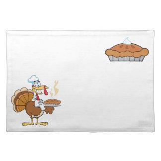Thanksgiving Placemats - Turkey and Pumpkin Pie