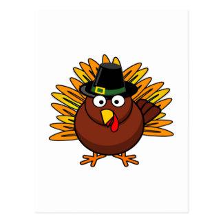 Thanksgiving Turkey Logo Create a Holiday Gift Postcard