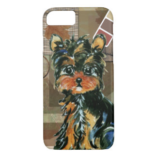 THANKSGIVING YORKIE iPhone 8/7 CASE