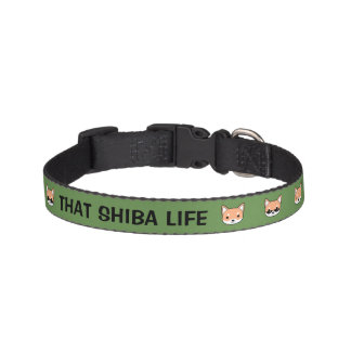 That Shiba Life Dog Collar