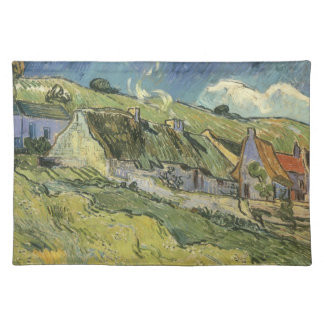 Thatched Cottages by Vincent van Gogh Placemat
