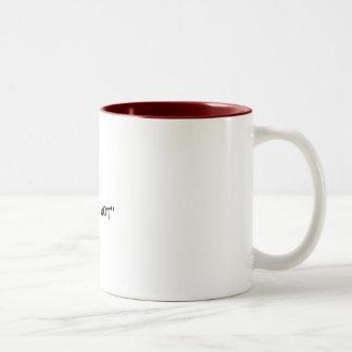 'THAT'S HOT'' Two-Tone COFFEE MUG