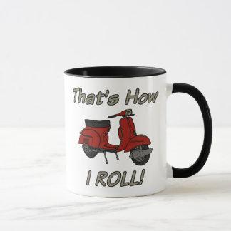 That's How I Roll Moped Mug