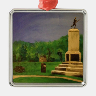 The 1st Minnesota Monument at Gettysburg, PA Christmas Ornament