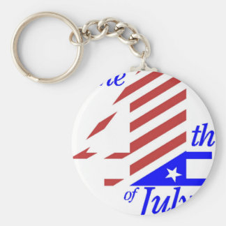 The 4th Of July Key Ring