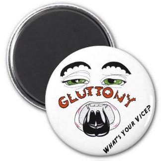 The 7 Deadlies — Gluttony Refrigerator Magnet