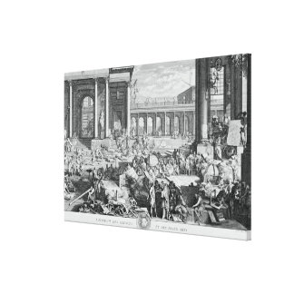 The Academy of Sciences and Fine Arts Canvas Print