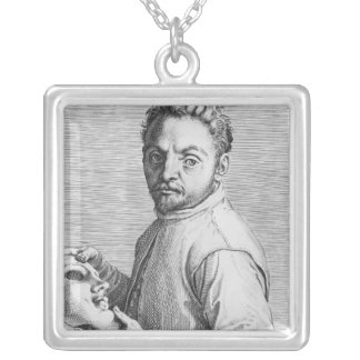 The Actor Jean Gabriel Swel Silver Plated Necklace