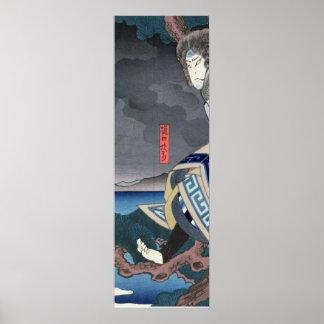 The actor Nakamura Utaemon IV Poster