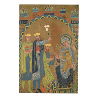The Adoration of the Magi, c.1189 Wood Wall Art