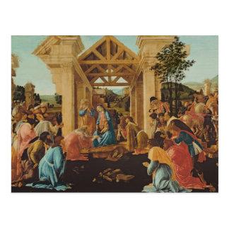 The Adoration of the Magi, c.1478-82 Postcard